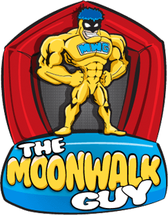The Moonwalk Guy Logo Footer